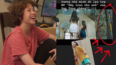 Lộ bằng chứng cô út Ánh Dương trong 'Về nhà đi con' lạc vào MV 'Hãy trao cho anh' của Sơn Tùng M-TP?