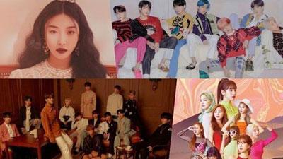 BXH doanh số album tại Gaon nửa đầu 2019: Dẫn đầu nhạc số không phải BTS, Twice hay BlackPink