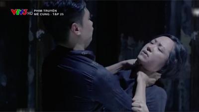 'Mê cung': Việt Anh lao vào bóp cổ bồ nhí của ông chủ, để mặc người tình gào thét xin tha
