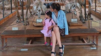 Lâu lắm mới thấy khoe con gái, Tăng Thanh Hà khiến dân tình xuýt xoa vì mẹ đẹp con xinh mất phần thiên hạ