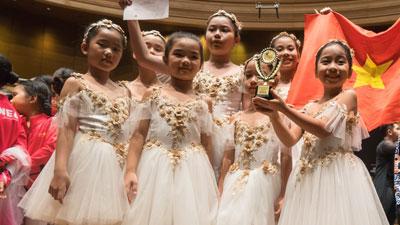 Ballet nhí Việt Nam xuất sắc giành huy chương vàng châu Á