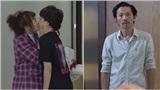 'Về nhà đi con' ngoại truyện: Ông Sơn chết đứng nhìn Dương 'tomboyloichoi' hôn môi bạn gái ngay trước mặt