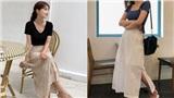 Chân váy dài 'chắc suất' trong danh sách những items hot nhất mùa thu 2019 và 3 cách diện không lo dìm dáng