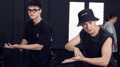 Ngô Kiến Huy miệt mài tập vũ đạo cho MV dance mới tinh 'Truyền Thái Y' kết hợp cùng Lâm Vinh Hải