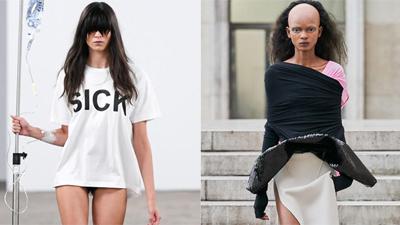 Loạt thiết kế, trang sức kì dị - khó hiểu đố ai dám mặc ra phố tại Tuần lễ thời trang Paris