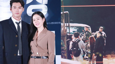Lộ tạo hình quân nhân siêu đẹp trai của 'tình cũ Song Hye Kyo' trong phim mới đóng cùng Son Ye Jin: 'Soái' thế này ai vượt được anh!