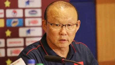 HLV Park Hang-seo bênh tiền đạo nhà khi bị chê không thể ghi bàn