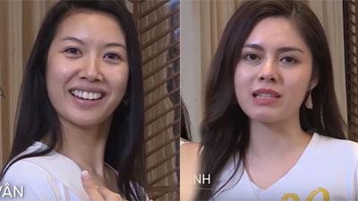 Tôi là Hoa hậu Hoàn vũ Việt Nam: Hot girl đóng cảnh nóng vẫn xinh đẹp, Thúy Vân quá khác biệt khi lộ mặt mộc