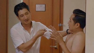 'Hoa hồng trên ngực trái': Thái cầm dao điên tiết dọa giết cả Trà và Hùng khi bắt gặp đôi 'gian phu dâm phụ' lên giường với nhau