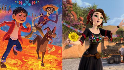 Những tác phẩm phim hoạt hình đặc sắc nhất về văn hóa Mexico rực rỡ sắc màu