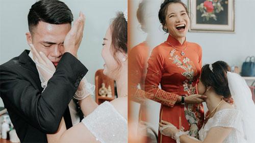 Lấy được vợ, chú rể khóc suốt 15 phút, mẹ cô dâu giây trước cười giây sau thái độ khác hẳn