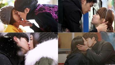 10 nụ hôn đình đám mãnh liệt không thể bỏ qua của màn ảnh Hàn từ 2009-2019