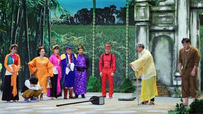 Hình ảnh đầu tiên của chương trình thay thế 'Táo Quân': NSND Công Lý, NSND Minh Hằng vắng mặt