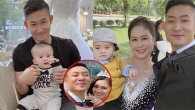 'Hoa hồng trên ngực trái': Lịm tim với hình ảnh con trai của Khang - San, cặp đôi làm đám cưới sau bao sóng gió
