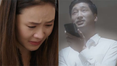 'Hoa hồng trên ngực trái' tập cuối: Khuê khóc cạn nước mắt khi nghe những lời cuối cùng Thái dành cho mình