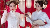 Vợ hai Minh Nhựa khiến dân tình hoảng hồn với bộ ảnh phong cách Trung Hoa: Nhìn cứ tưởng búp bê bị hỏng khuôn đúc chứ!
