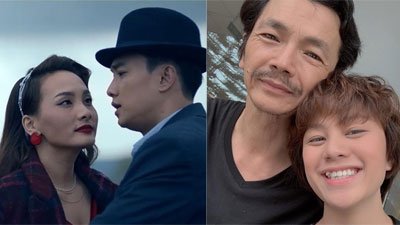 Lần đầu tiên làm 'tiểu tam' trên màn ảnh rộng, Bảo Thanh được 'bố Sơn' và 'em gái tomboyloichoi' khen hết lời