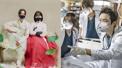 Giữa tâm bão virus corona, poster các phim bộ Hoa - Hàn cũng đồng loạt đeo khẩu trang!