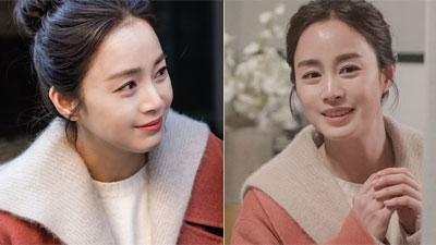 Kim Tae Hee làm ma nữ tấu hài trong phim thế sóng 'Crash Landing On You': Để lộ bọng mắt to, da chảy xệ