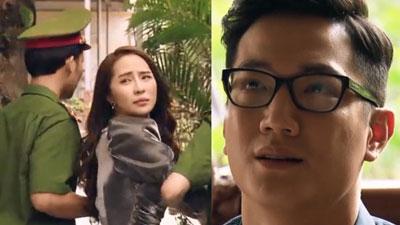 'Sinh tử' tập 77: Quỳnh Trinh (Quỳnh Nga) bị bắt vì nghi giết người, Chí Nhân cầu xin bố giải cứu cho nhân tình