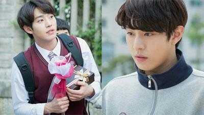 Hình ảnh Ahn Hyo Seop trong bộ đồng phục học sinh được 'khai quật', fans hâm mộ mong anh đóng phim học đường!