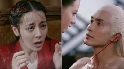 'Tam sinh tam thế Chẩm thượng thư': Cao Vỹ Quang xấu hổ khi lộ cơ thể trước Địch Lệ Nhiệt Ba, đôi tai đỏ kể hết sự thật