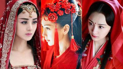 Váy đỏ rực rỡ nhất: Dương Mịch - Địch Lệ Nhiệt Ba - Triệu Lệ Dĩnh đẹp mê mẩn nhưng Angelababy mới là tiên nữ
