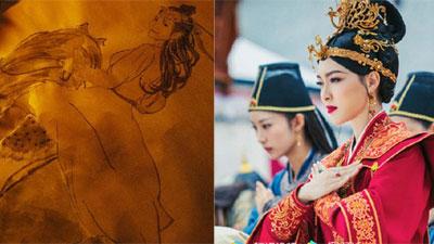 'Yến Vân Đài': Lộ ảnh Đường Yên cưỡi ngựa khi bụng bầu đã lớn, đẹp hơn Dương Mịch - Lưu Thi Thi