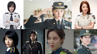 Khi nữ diễn viên Hàn Quốc khoác lên mình đồng phục cảnh sát: Lee Sung Kyung phá đảo, Seohyun (SNSD) gây bất ngờ