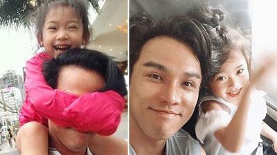 Con gái Mai Phương xuất hiện với nụ cười vui vẻ, cô bé hiện đang được chăm sóc rất tốt