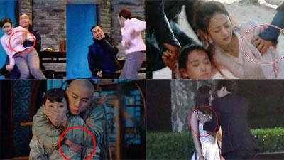 Nữ diễn viên bị sàm sỡ trên phim trường: Tần Lam tức giận, Dương Mịch, Triệu Lệ Dĩnh không có phản ứng