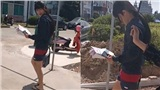 'Âm Dương Sư': Đặng Luân mặc sơ sài, 'hở hang' đóng phim với Triệu Hựu Đình, còn ai nhận ra mỹ nam vạn người mê?