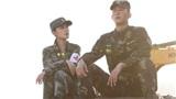 'Quân trang thân yêu' của Hoàng Cảnh Du - Lý Thấm tung ảnh, cảnh phim phảng phất hình ảnh của 'Hậu duệ mặt trời'