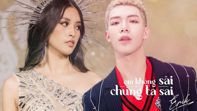 Không phải Hòa Minzy hay Đức Phúc, Hoa hậu Tiểu Vy mới chính là 'trùm cuối' trong MV comeback của Erik?