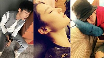 Ảnh ngủ gật của các sao Hoa ngữ: Người đẹp không góc chết, kẻ bị dìm thê thảm