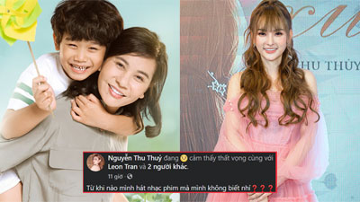 Sau lùm xùm 'đá xoáy' trên mạng xã hội sau Cánh Diều Vàng, 'Hạnh phúc của mẹ' bị Thu Thủy tố 'xài chùa' nhạc phim