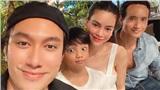 Hồ Ngọc Hà xuất hiện tươi tắn bên con trai Subeo và bạn trai Kim Lý giữa tin đồn mang thai nhưng ai cũng chú ý đến vòng 2