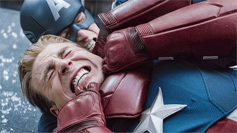 Video tổng hợp tất cả những lần Captain America bị đấm vào mặt