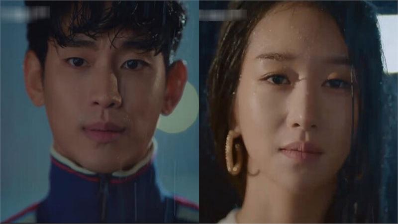 'Điên thì có sao?' tập 4: Mãn nhãn cảnh Kim Soo Hyun ôm gái xinh dưới mưa siêu lãng mạn