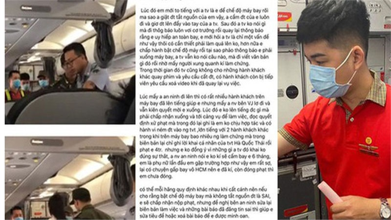 Tranh luận quanh việc cô gái 'ném điện thoại vào tiếp viên trưởng' bị cấm bay 1 năm