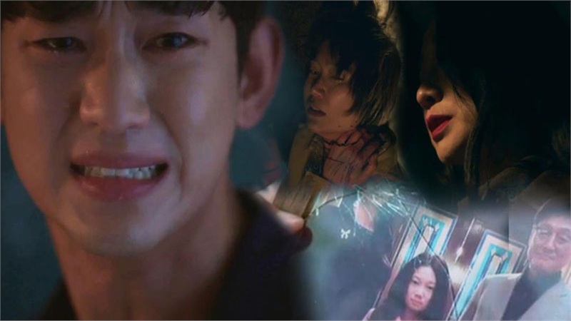 'Điên thì có sao' tập 12: Kim Soo Hyun đau khổ vì kẻ thù giết mẹ là mẹ của bạn gái