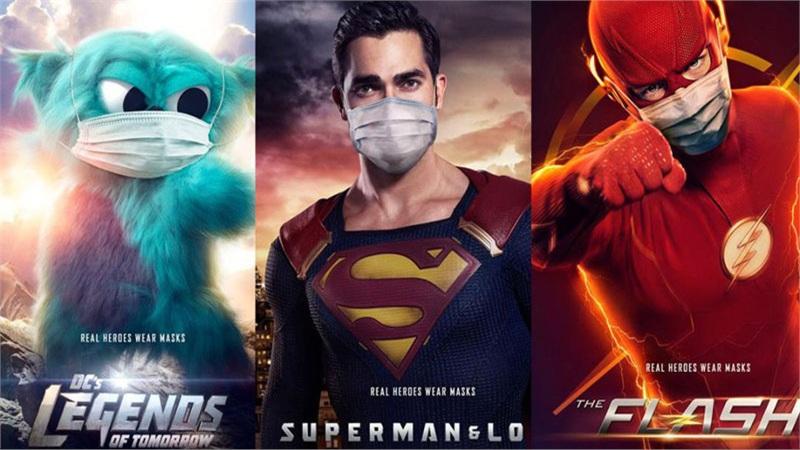 Để chống COVID-19, siêu anh hùng còn phải đeo khẩu trang nói chi là người thường
