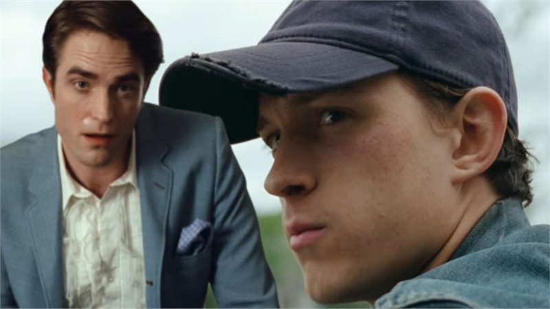Netflix tung trailer 'The Devil All The Time': Bạn chọn Tom Holland hay Robert Pattinson?