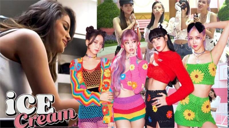 Khoảnh khắc hậu trường MV Ice Cream: Selena Gomez túc trực theo dõi BlackPink, Lisa 'nhắc bài' cho Jisoo tại ngay phim trường