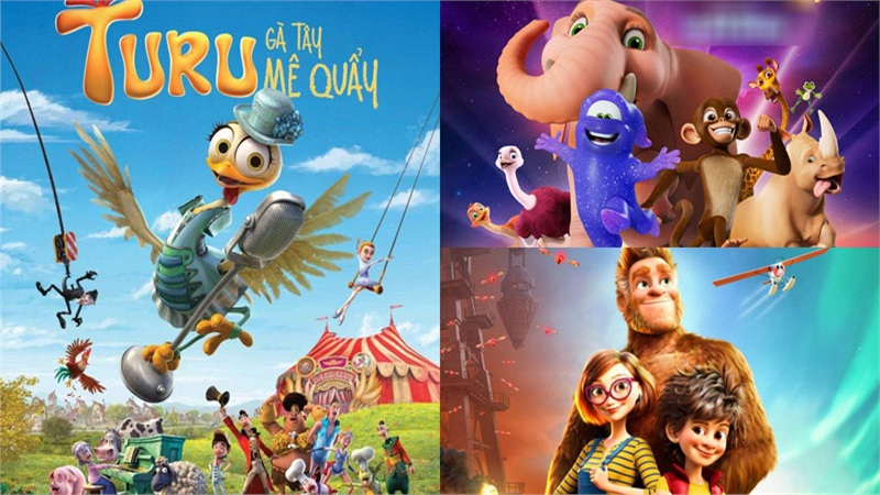 3 bộ phim hoạt hình vui nhộn không thể bỏ lỡ trong tháng 9