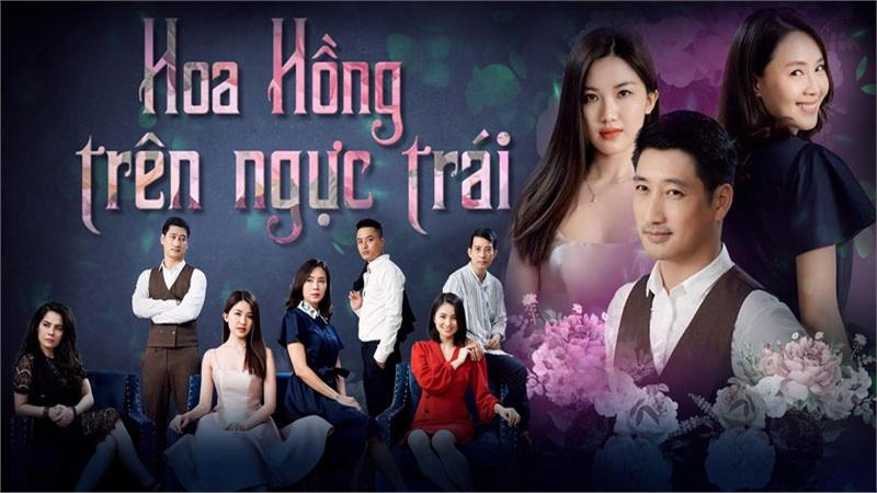 Phim của 'chị Khuê' Hồng Diễm và 'anh Bảo' Hồng Đăng Hoa hồng trên ngực trái nhận cúp tại VTV Awards 2020