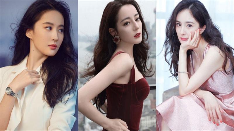 10 nữ diễn viên Trung Quốc được yêu thích nhất