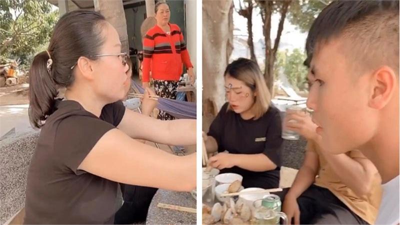 Vừa giành chức vô địch Cúp Quốc gia, Quang Hải tức tốc vào tận Nha Trang dùng cơm với 'mẹ tương lai'