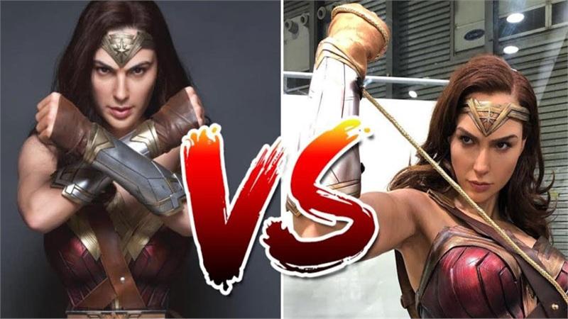Phát choáng trước bức tượng giống Gal Gadot Wonder Woman đến mức không tưởng
