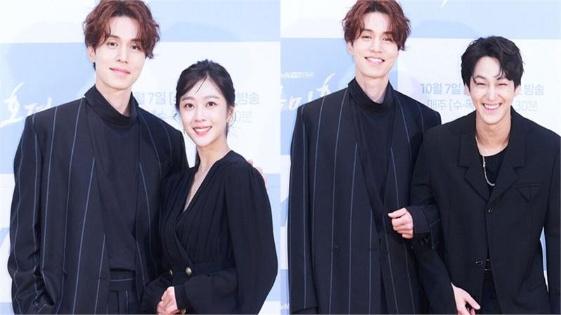 Họp báo 'Bạn trai tôi là hồ ly': Gượng gạo bên Jo Bo Ah nhưng Lee Dong Wook lại tình tứ khoác tay Kim Bum